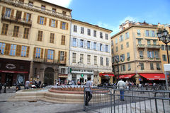 Old Town,Nice, France. Royalty Free Stock Images