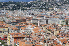 Old Town of Nice in France Stock Image