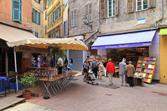Old town in Nice, France. Royalty Free Stock Image