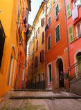 Old town of Nice, France Royalty Free Stock Photos