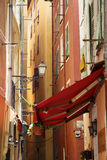 Old Town of Nice, Narrow street Royalty Free Stock Images
