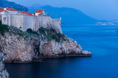 Old town at night. Dubrovnik. Croatia Stock Photo