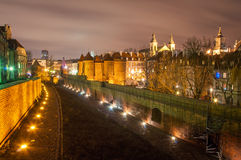 Old Town at night. Royalty Free Stock Image