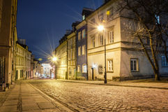 Old Town at night. Stock Image
