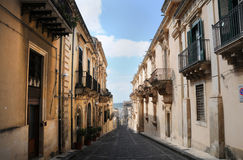 Old town of Noto Stock Images