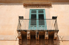 Old town of Noto Stock Photo