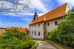Old town in Novi Sad - Serbia Royalty Free Stock Image