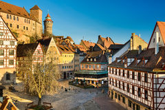Old Town of Nuremberg, Germany Royalty Free Stock Photo
