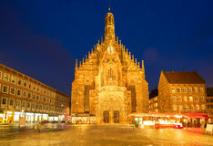 Old town of Nuremberg, Germany Stock Image