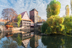 Old town of Nuremberg, Germany Royalty Free Stock Photography