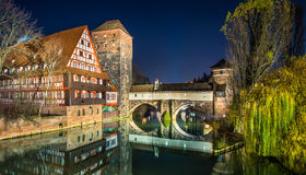 Old Town of Nuremberg, Germany Royalty Free Stock Image