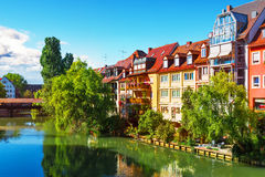 Old Town in Nuremberg, Germany royalty free stock photo