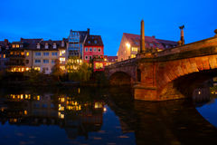 Old town of Nuremberg, Germany Royalty Free Stock Images