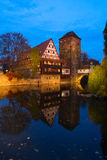 Old town of Nuremberg, Germany Stock Photography