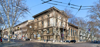The old town of Odessa Stock Image