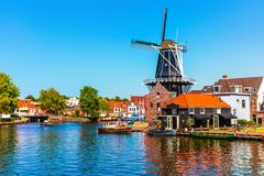Free Old Town Of Haarlem, Netherlands Royalty Free Stock Photos - 124964868