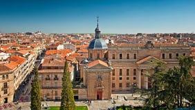 Old Town Of Salamanca Stock Images