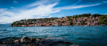 The old town Ohrid Royalty Free Stock Images
