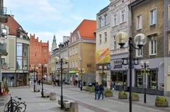 Old Town Olsztyn (Poland) Stock Images