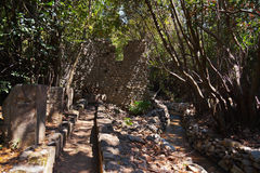 Old town Olympos in Turkey Royalty Free Stock Photo