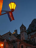 Old town Omis Royalty Free Stock Images