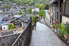 Old Town Onomichi Stock Photo