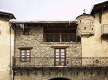 Old town in Ordino. Andorra.  Royalty Free Stock Photos