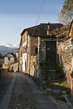 Old town Orta Stock Images