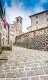 Old town of Ortignano Raggiolo Tuscany Stock Image