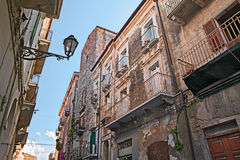 Old town of Ortona, Abruzzo , Italy Stock Photos