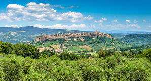 Old town of Orvieto, Umbria, Italy Stock Images