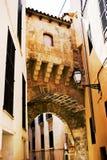 Old Town Palma de Mallorca. Gate in the Old Town of Palma de Mallorca Royalty Free Stock Photography