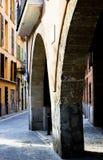 Old Town Palma de Mallorca. Passage in the Old Town of Palma de Mallorca Stock Photo