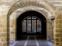 Old Town Palma de Mallorca. Passage in the Old Town of Palma de Mallorca Stock Image
