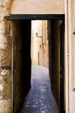 Old Town Palma de Mallorca. Passage in the Old Town of Palma de Mallorca Stock Photos