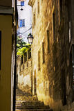 Old Town Palma de Mallorca. Street in the Old Town of Palma de Mallorca Royalty Free Stock Photography