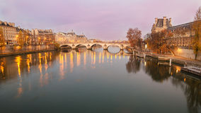 Old Town of Paris (France) Stock Image