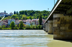 Old town of passau Royalty Free Stock Photo