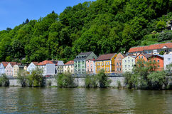Old town of passau Stock Images