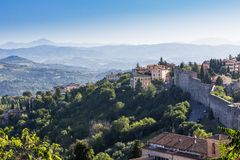 Old town of Perugia, Umbria, Italy Royalty Free Stock Photos