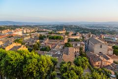 Old town of Perugia, Umbria, Italy Royalty Free Stock Photos