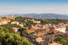 Old town of Perugia, Umbria, Italy stock image