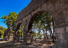 Old town Phaselis in Antalya, Turkey Royalty Free Stock Image