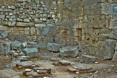 Old town Phaselis in Antalya, Turkey Royalty Free Stock Photography