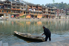 Old Town of Phoenix (Fenghuang Ancient Town) Stock Photography