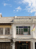 The Old Town Phuket Chino Portuguese Style Royalty Free Stock Photos