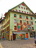 Old town picturesque buildings Lucerne Switzerland Royalty Free Stock Photography