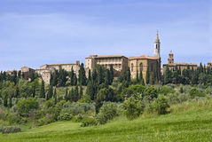 Old town Pienza in Italy. Royalty Free Stock Image