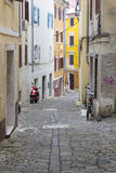 Old Town in Piran, Slovenia Royalty Free Stock Image