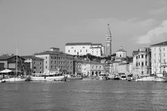 Old town Piran - Slovenian coast Royalty Free Stock Photography